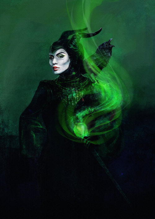 Maleficient : By Sina Sofie / Tumblr