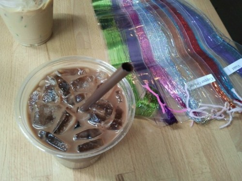 Iced soy mocha and sparkles! | I'm at Cloud Seven Cafe! 4sq.com/anSHnL