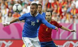theworldsgame:  So it's Italy v Spain for the final. The two winners of the last three major trophies will face off in a final many didn't expect. Spain was declared to be on the decline by many, while Italy was in a weird transitional phase. Both of those statements may be true, but the fact remains that one of them will lift the trophy Sunday. We will surely have more detailed analysis leading up to the final, but for now, who's your pick to win Euro 2012?