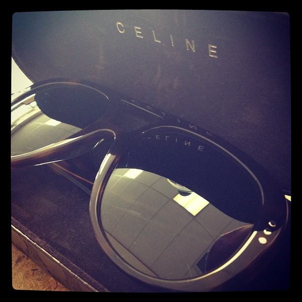 This happened today, 2ish. #celine 😍✨ (Taken with Instagram)