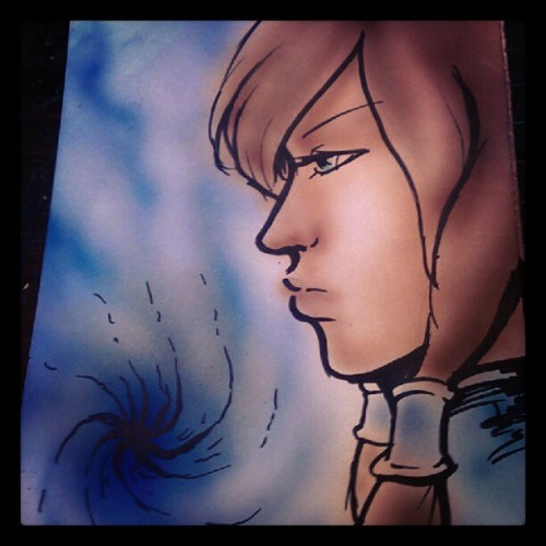 Daily Korra doodle (Taken with Instagram)