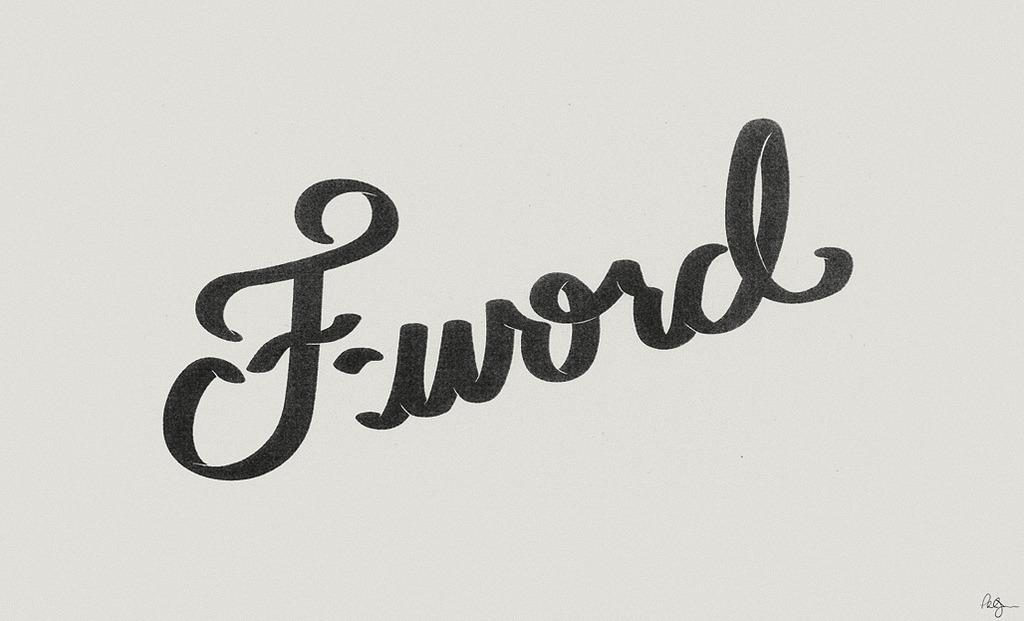 F-word (by phildesignart)