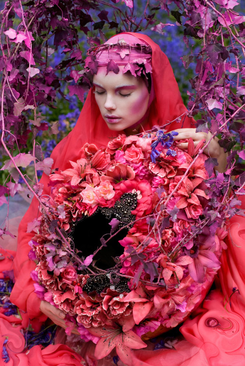 From the enchanting 'Wonderland' series by Kirsty Mitchell.