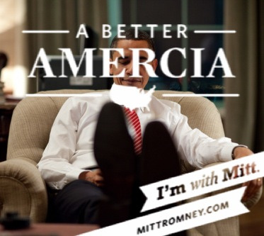 mittromneyforamercia:  For a Muslim like Barack Hussein Obama, showing the soles of your shoes is a serious sign of contempt.  Oh my goodness, he's NOT a Muslim, can we just get over that already? Your ignorance is astounding.