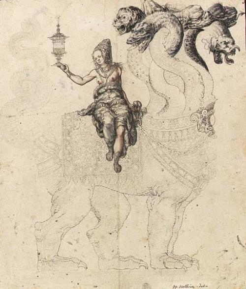 The Whore of Babylon , School of Berne, circa 1560