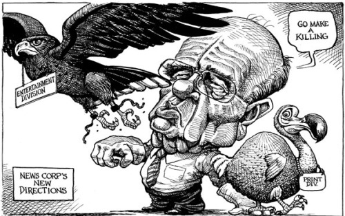 KAL's cartoon: this week, division.