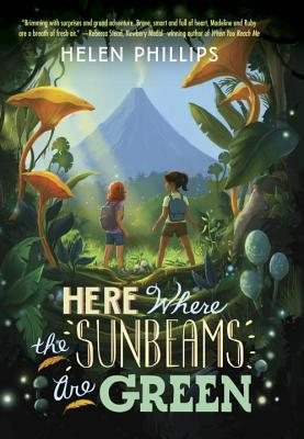 mcnallykids:  Teen Review Here Where the Sunbeams are Green Helen Phillips Pub 11-2012, Delacorte Books for Young Readers, $17.99 Hello! The book I am reviewing is called Here Where the Sunbeams Are Green by Helen Phillips. This is her first children's book. I will give you a summary. Happy reading. Mad and Roo are two siblings who are scared because their father has disappeared. Their father studies birds and has gone away looking for birds in the rainforest. When Mad, Roo, and their mother go to see him for an appointment, he appears not to care about them. Mad and Roo suspect that something is wrong and they find out the people who are employing their father are secretly forcing him to kill almost extinct birds against his will. Together, with their friend Kyle, they make a plan to tell the public what is really going on. I struggled to find something good to say about this book even though I really wanted to like it. Some of the problems that I found were that there were very long breaks between exciting events and even when something exciting did happen, it was usually predictable with no element of surprise. I wouldn't really recommend this book. It is a slow read.  If you like birds, feel free to pick up this book to read. The survival of the almost extinct species may inspire you to want to read further. This book may not be an incredible pick for me but there are so many other books out there I know you will find one that you will want to read. -Noah P., 11  Can we just end all reviews this way? Noah P. for president of book reviewing.