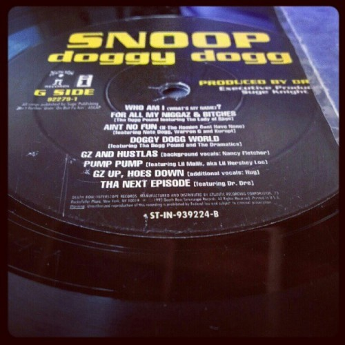 #OG #VINYL #GzUP #THROWBACKTHURSDAY  (Taken with Instagram)
