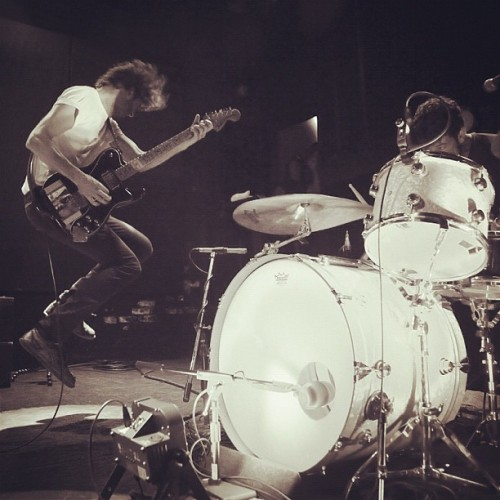 #Japandroids played an explosive set in NYC last night. Read our review of the show on RollingStone.com. (Taken with Instagram)