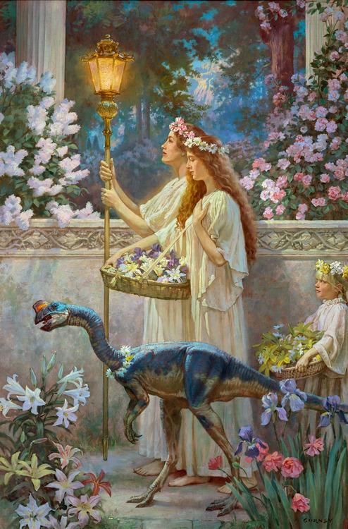 Garden of Hope, by James Gurney