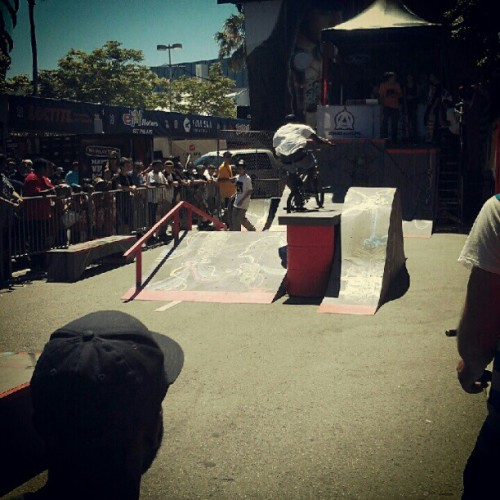 Riding a demo at xgames with @tierrakp @timmyt_8989 @gabe_brooks  (Taken with Instagram)