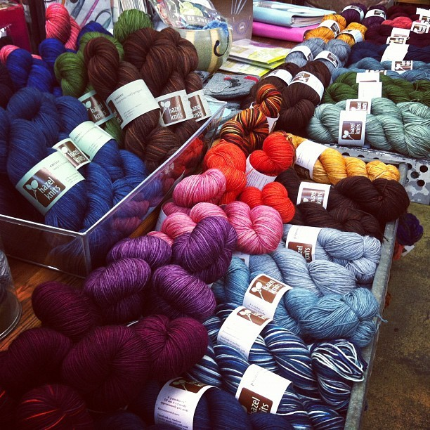 Hello new favourite yarn (Taken with Instagram at Hill Country Weavers)