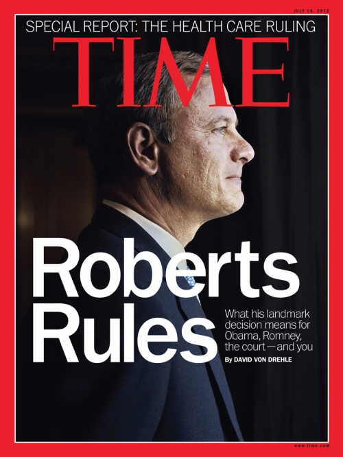 Time cover. [via]