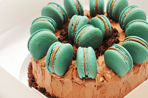 lanc3r:  macaronscake | Flickr - Photo Sharing! on We Heart It. http://weheartit.com/entry/28312353