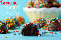 Brownie Batter Truffles click image for recipe