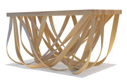 Beautiful and clever coffee table design by Yvette Cox. What do you think?  Source: http://design-milk.com/florence-coffee-table-by-yvette-cox/