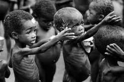 Why do some people have to starve and live in poverty whilst others waste their life taking advantage of everything they own?