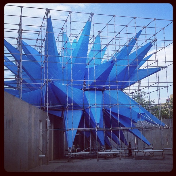 "The debut of HWKN's ""Wendy"" @MoMAPS1 (Taken with Instagram)"
