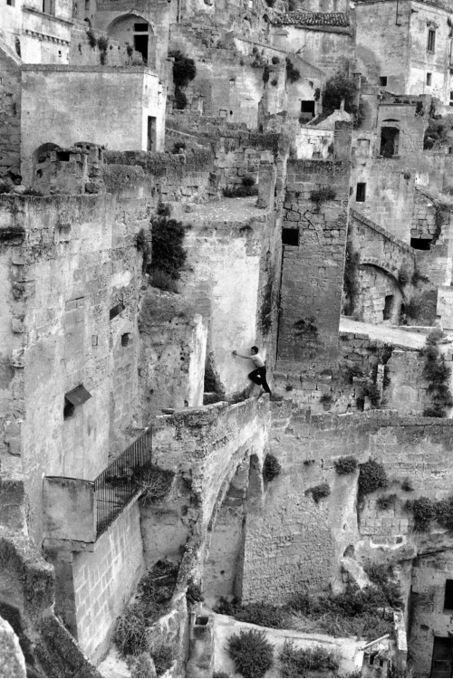 Matera, Italy, 1973, by Henri Cartier Bresson.
