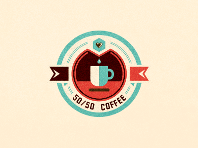 visualgraphic:  50/50 Coffee