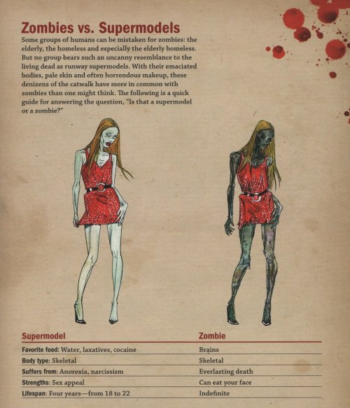 (via Zombies Vs Supermodels Inforgraphic | Apocalyptic Thoughts)