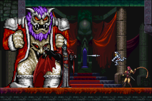 it8bit:  Castles'n Goblins Awesome Ghosts N Goblins and Castlevania Pixel art mashup.  Created by Gatman720