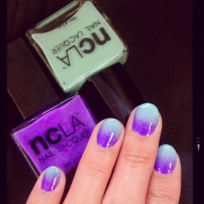 @StephStoneNails perfects the fade using @shopncla  (Taken with Instagram)