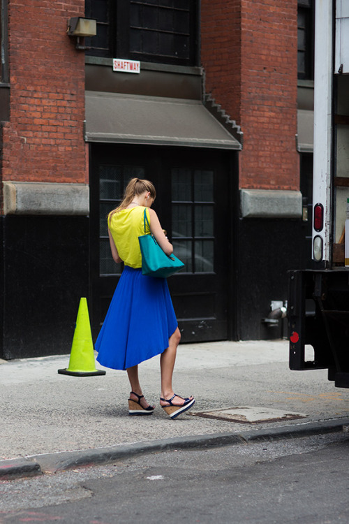 East 4th Street, New York City photo: Sartorialist