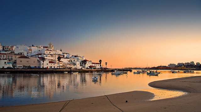 Ferragudo sunset
