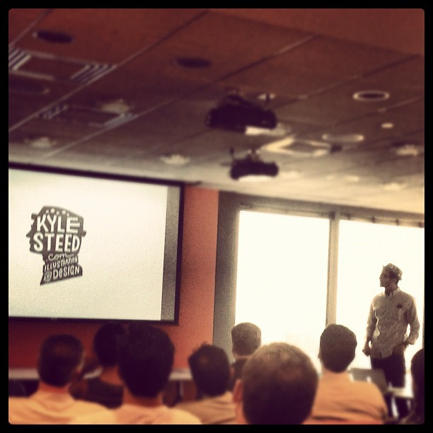 Thrilled to have @kylesteed presenting @engauge! (Taken with Instagram at Engauge)