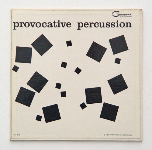flasd:  Persuasive Percussion album cover by Josef Albers