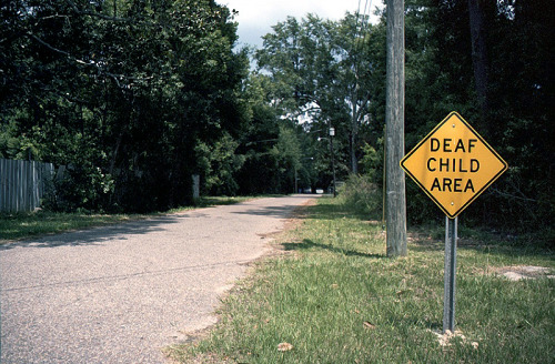 Deaf Child Area Bayou outside Mobile, AL (6/7/12)Nikon F2