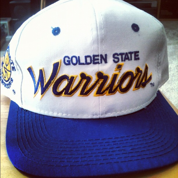 GSW draft day cap. #nbadraft  (Taken with Instagram)