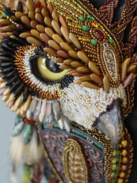 gaksdesigns:  Bead Embroidery / Heidi Kummli