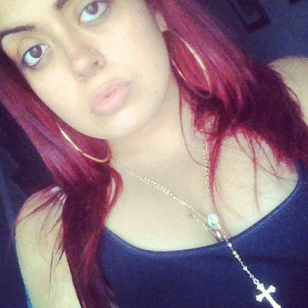 #new #haircolor #red #ariel #littlered #new #summer #bright #pow !! Eat your heart out *' 👻❤💋 (Taken with Instagram)