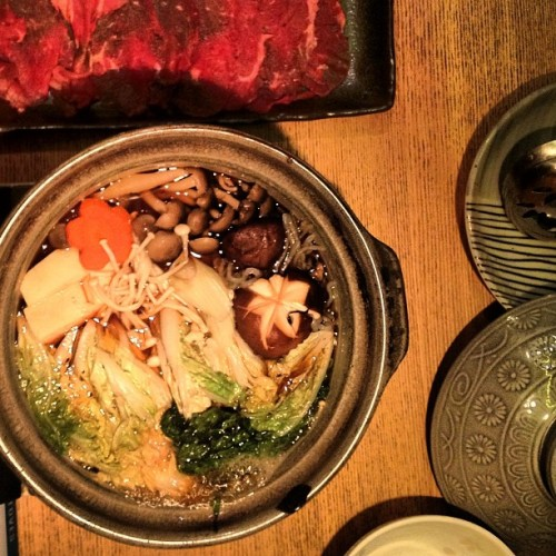 Sukiyaki.  (Taken with Instagram)
