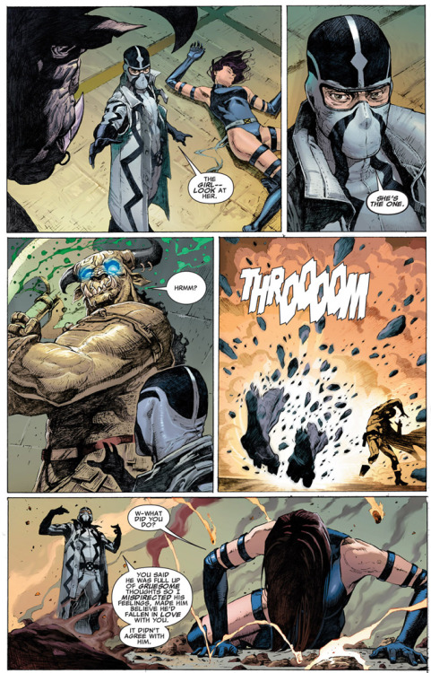 Fantomex's power of misdirection
