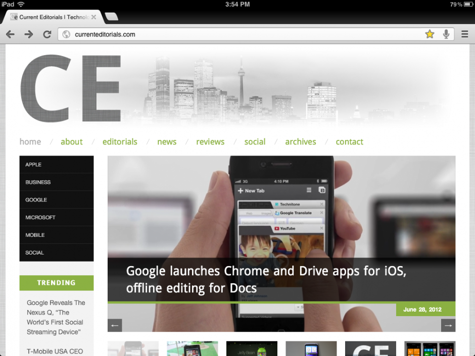 Stop Complaining About Chrome for iOS, It's The iPhone of Mobile Browsers | Current Editorials