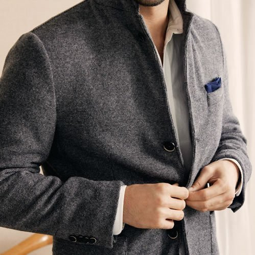Monocle x Barena Linen Travel Jacket