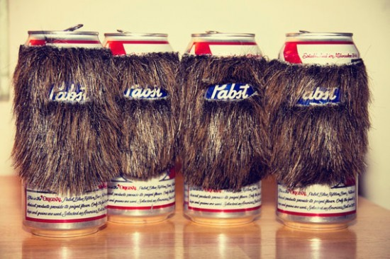 thedailywhat:  Beard Cans of the Day: For PBR, it should probably be an ironic moustache. [geekosystem]