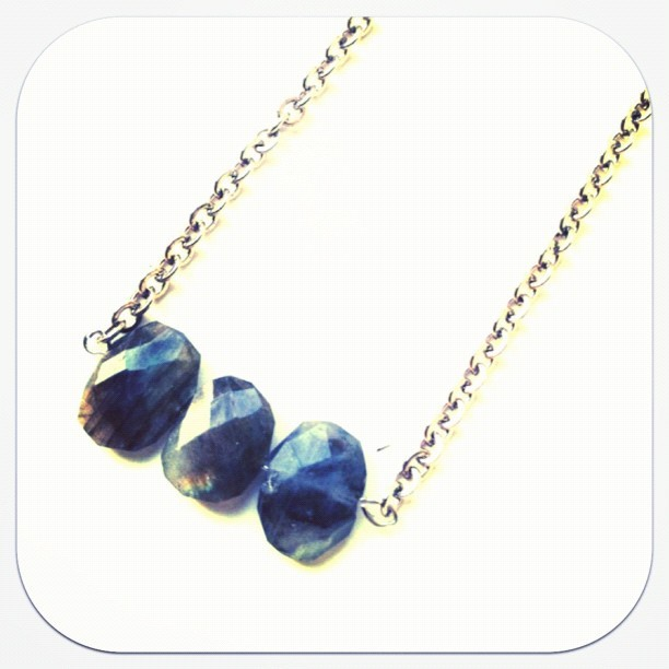 Genuine labradorite necklace will be on the site tonight! #nubambu #instagood #instafashion #jewelry #fashion #style #instagramhub #iphonesia #iphoneology  (Taken with Instagram at ShopNuBambu.com)