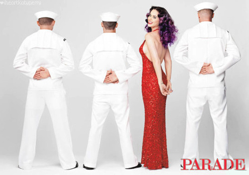 Katy Perry for PARADE magazine   my love for her just intensified.