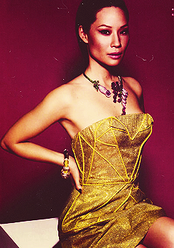 your beauty is offensive to me - Lucy Liu