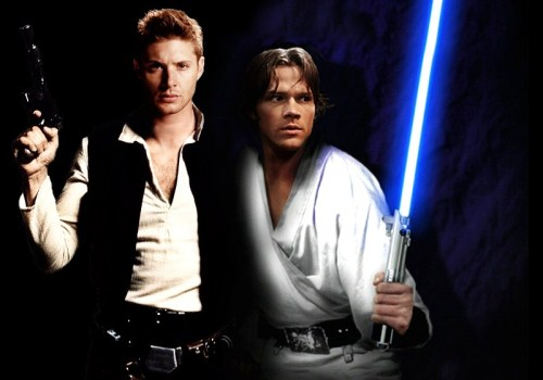 impala1:  Star wars Sam and Dean Unknown artist