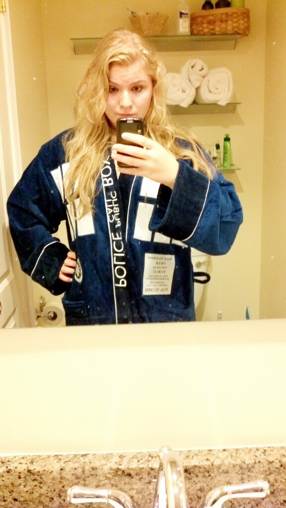 what. tardis robe what.