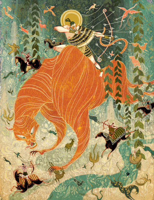 gaksdesigns:  Tiger Hunter