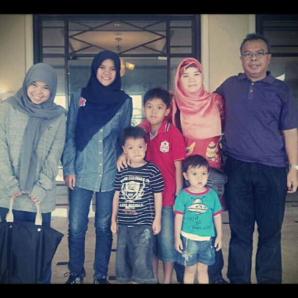 Le Grandeur, balikpapan. Family time ! ♥ #celebrityonvacation  (Taken with Instagram)