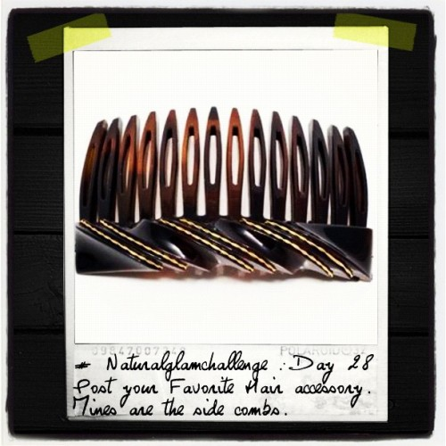 #tweegram #naturalglamchallenge day 28 #naturalhair accessory  (Taken with Instagram)