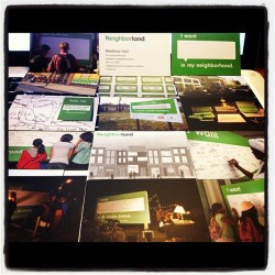 @Neighborland Business Cards!  (Taken with Instagram)