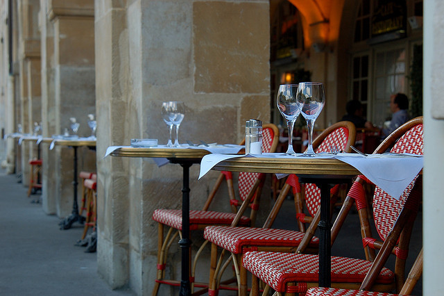 | ♕ |  arcade cafe - Place des Vosges, Paris  | by © Everita